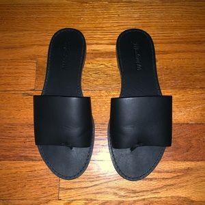 MADEWELL Black sandal NEVER WORN